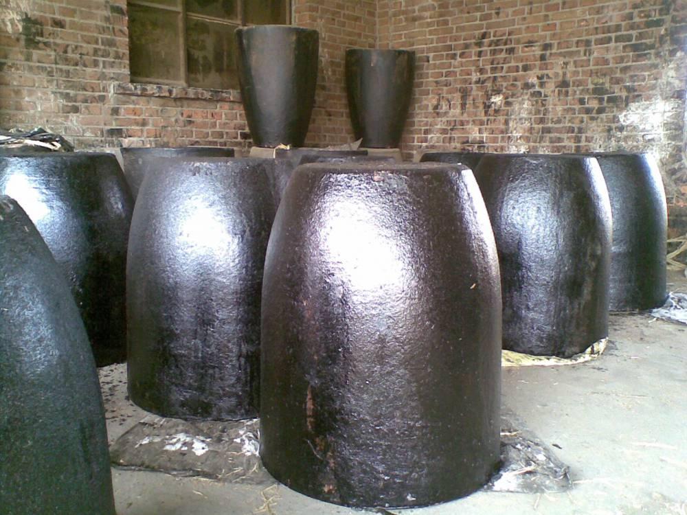 中冀金钢牌350#中频炉耐腐蚀碳化硅石墨坩埚价格