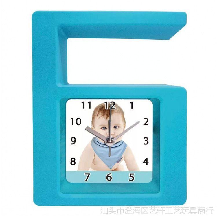 创意时尚个性卡通数字6闹钟儿童学校摆件闹钟促销礼品 YX010740