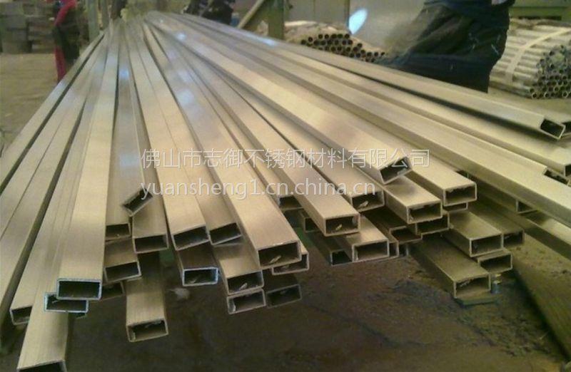 工业流体焊管,拉丝小毛细管,佛山304不锈钢方管 太钢