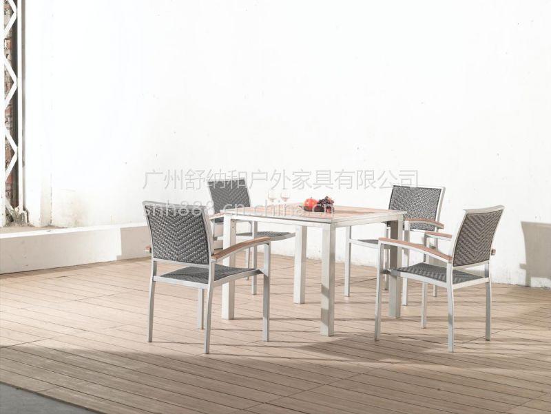 供应中山雅居乐售楼处休闲椅,藤编桌椅,仿藤家具
