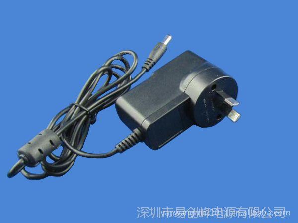 深圳24V0.5A插墙式电源适配器  澳规12W 国际标准SAA认证