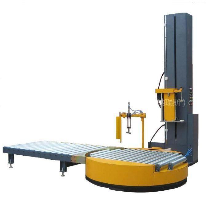供应美域高自动预拉伸在线式缠绕包装机