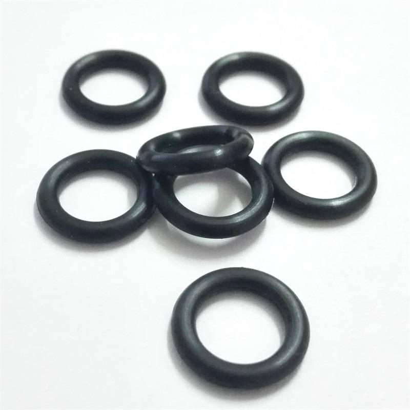 YFO型圈白色硅胶O型圈黑色橡胶防水圈耐磨损O令厂家批发