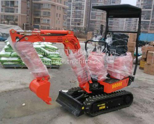果园苗圃用威尼斯官网超低价销售 山鼎履带式小挖机价格