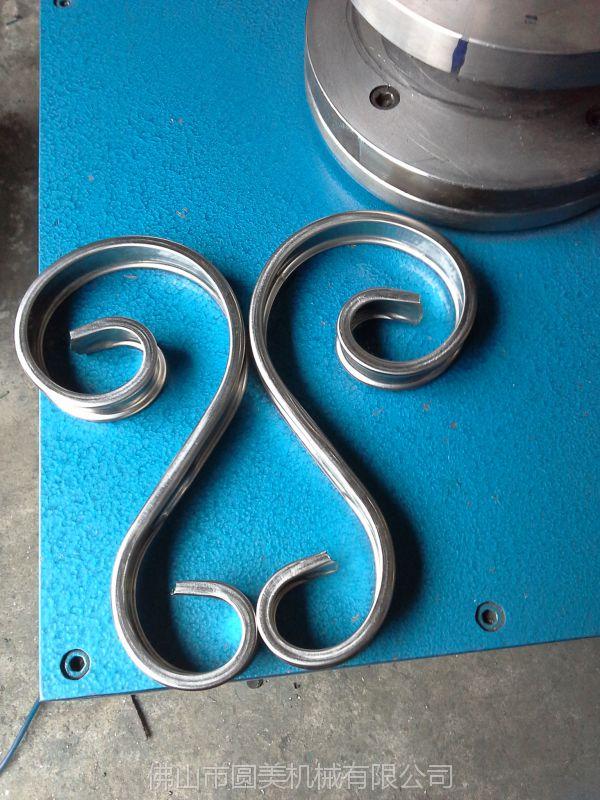供應優質凱得斯牌歐式彎花機***薄0.4mm可彎鐵藝彎花機窗花機彎花一次成型
