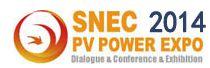 SNEC第八届(2014)国际太阳能产业及光伏工程(上海)展览会暨论坛