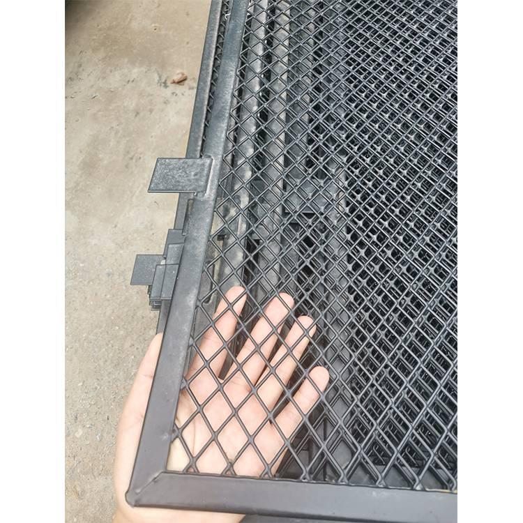 围墙护栏网价格,工地护栏网,围墙绿色铁丝网批发