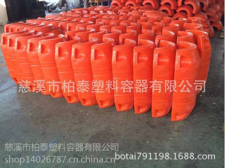 赤壁市河道拦污排 塑料浮筒