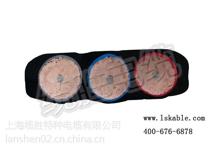 带钢丝屏蔽控制起重机扁电缆