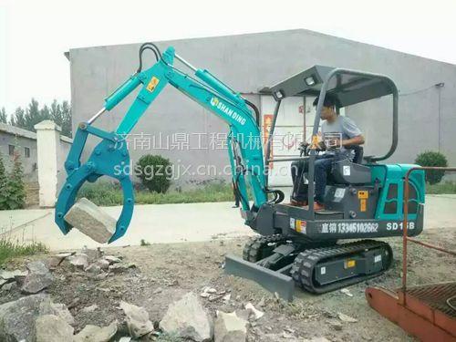 供应临沂1.5吨威尼斯官网价格 挖管道用山鼎小挖机