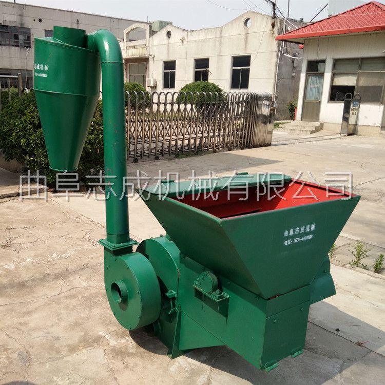 新款大型飼料粉碎機420-30型多功能稭稈打糠機花生秧草粉機廠家直銷