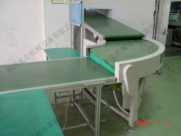 挡板皮带PU/PVC食品皮带输送机输送设备郑州水生机械