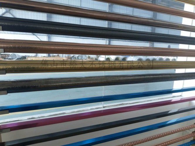 桥大牌-欧式201/304不锈钢花纹管 规格齐全 质优价廉