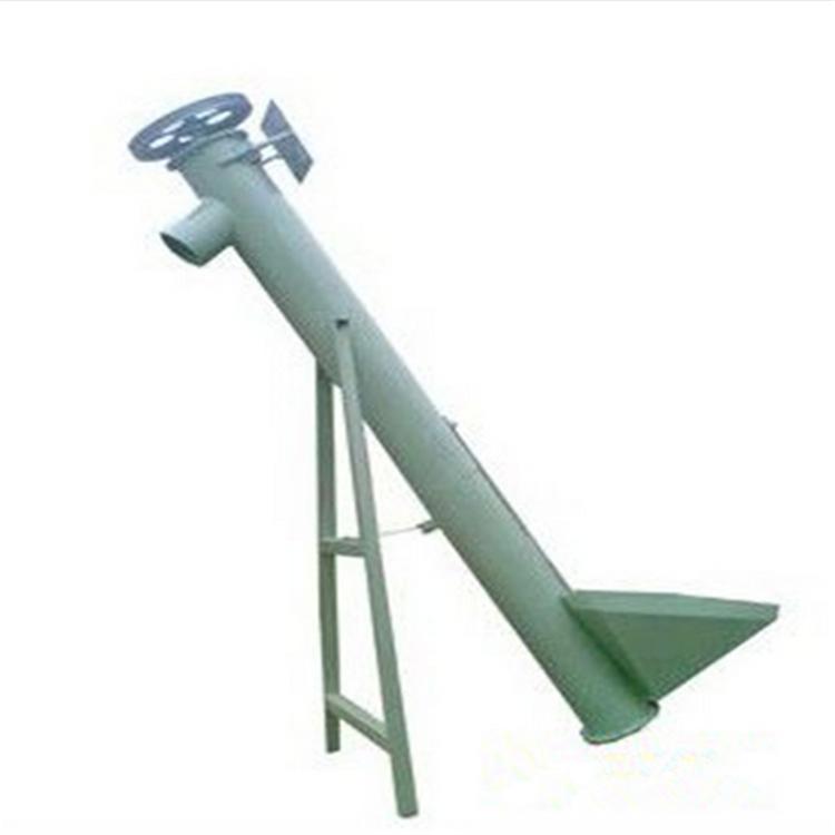 禹州不锈钢汽油螺旋提升机 兴亚小型喂料器参数