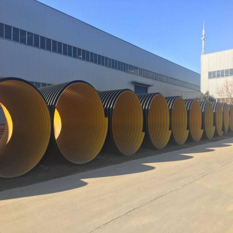 焦作加钢带的波纹管 排污排水管厂家