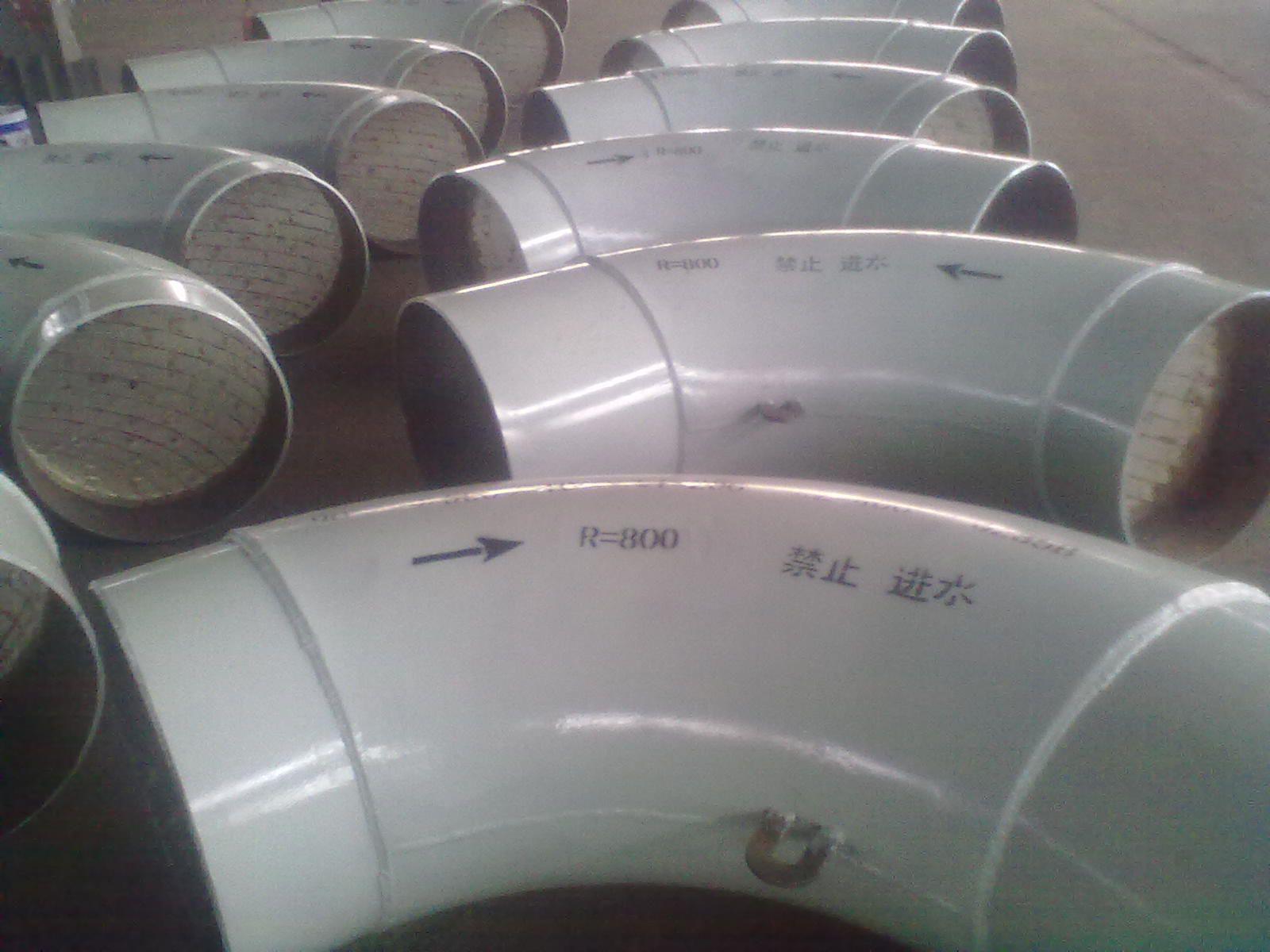 互壓陶瓷片耐磨彎頭
