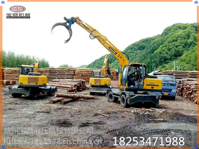 挖掘机抓钢机价格多少钱一台