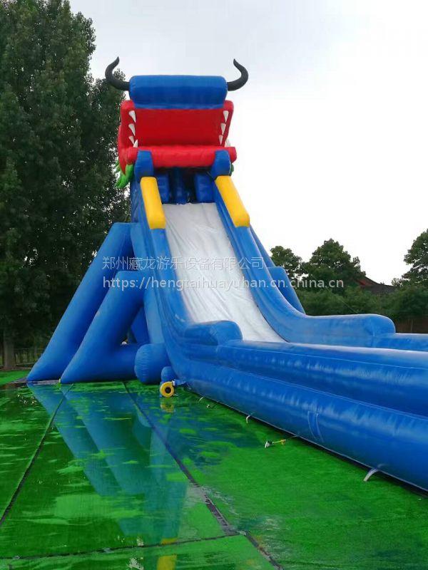 成人水上冲关闯关组合 支架水池游泳池大型充气水上乐园 水上闯关游乐园