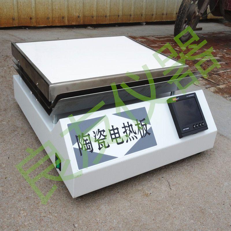 供应金坛姚记棋牌正版 LY-TS3陶瓷电热板 土壤电热板 高温