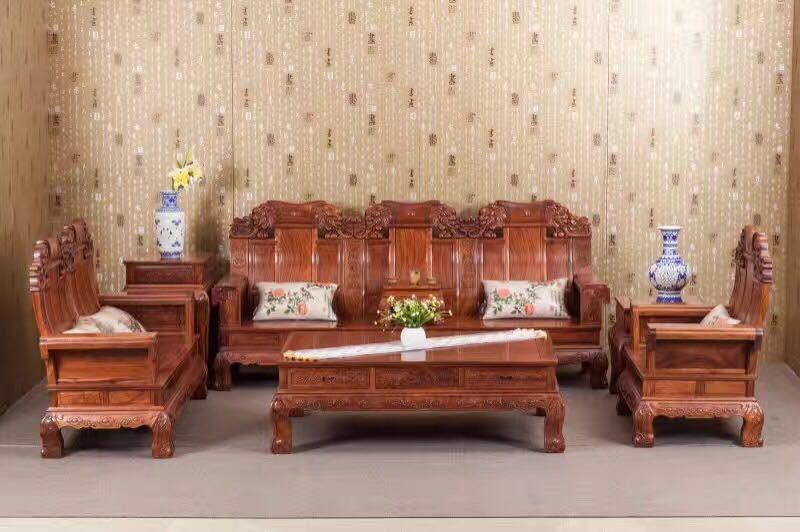 红木家具选什么木料 名琢世家刺猬紫檀家具