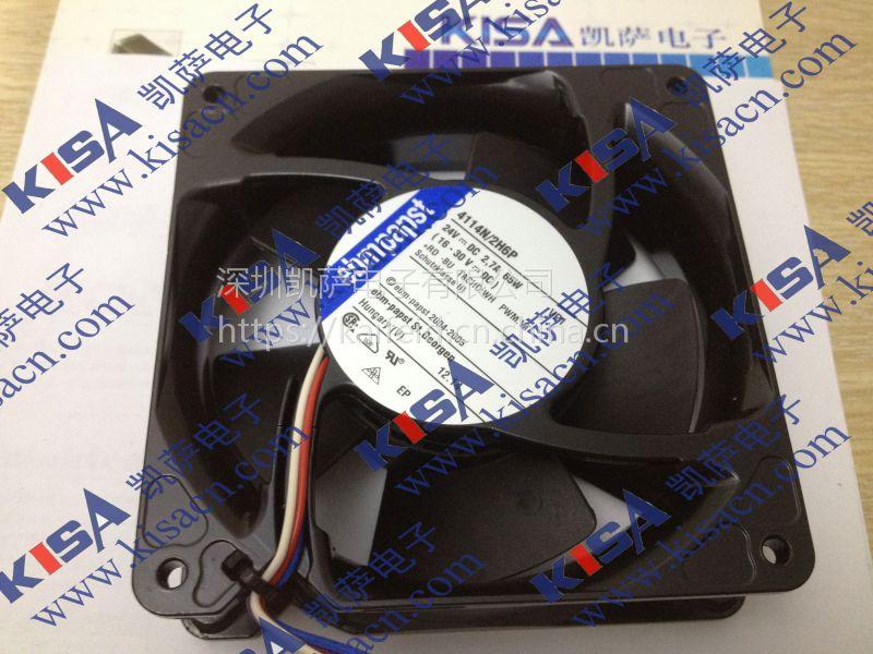 EBM-PAPST 3656 AC Fans 92x38mm 230AC 44CFM 12W 2700RPM 37dBA BB
