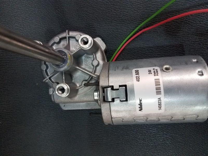 Valeo 402.600 Getriebemotor 24V used