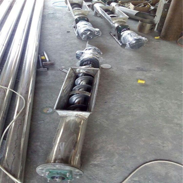 吉林大产量粉末螺旋提升机 兴亚工地上料机选型参数