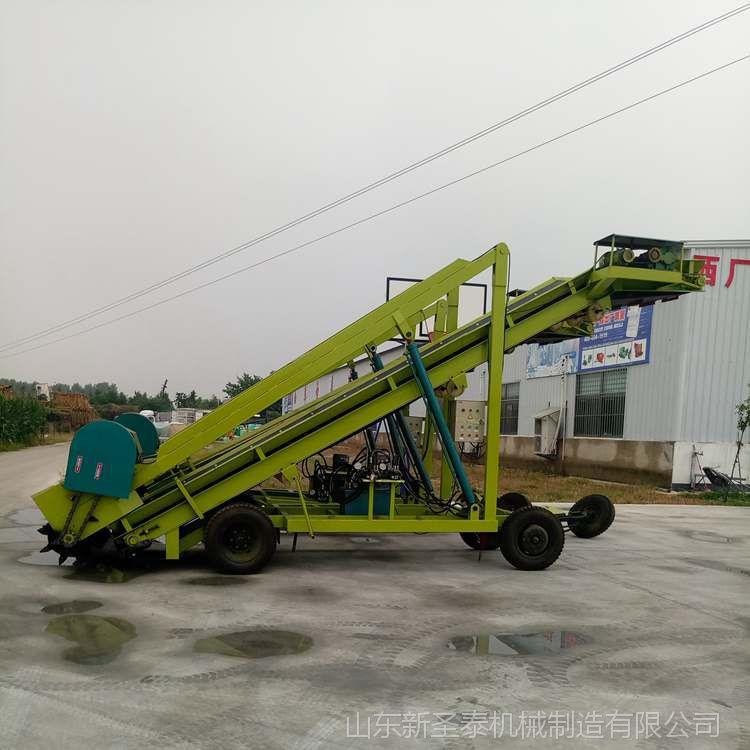 熱賣大型自走式青貯取料機價格 大型牛場專用取料機