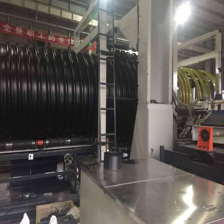 DN1000排污钢带增强波纹管厂家