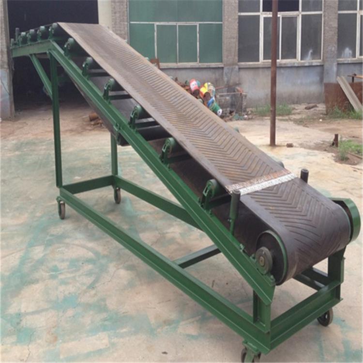 伸缩式皮带输送机设备 兴亚粮食砂石料用皮带输送机
