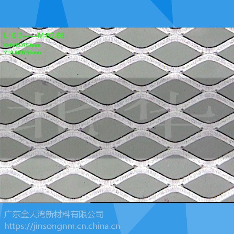 镍锌电池集流体用精密延展镀镍铜网可折边