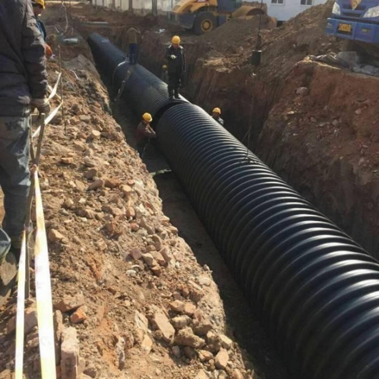 钢带增强螺旋波纹管-拥有大规格的生产线