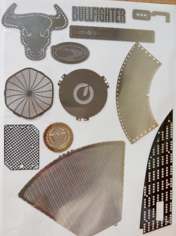不锈钢工具卡蚀刻加工,金属卡片腐蚀
