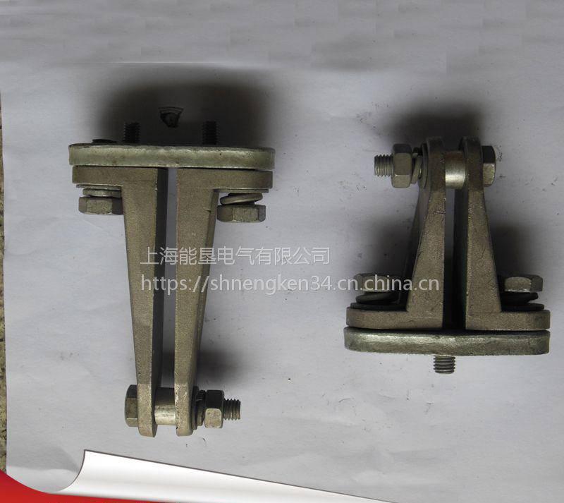 MNL-101矩形母线固定金具 上海能垦户内矩形固定电力金具