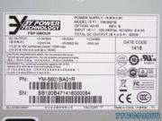 3Y Power YM-5601BxR 2U �~定600W服�掌�S秒�源 80 Plus �J�C