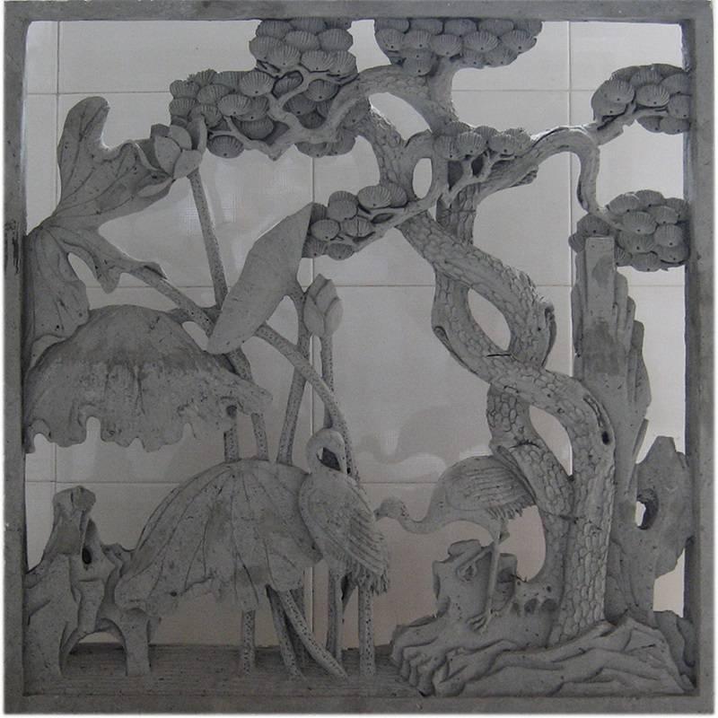 舟山园林混凝土水泥窗砌块星形预制漏窗