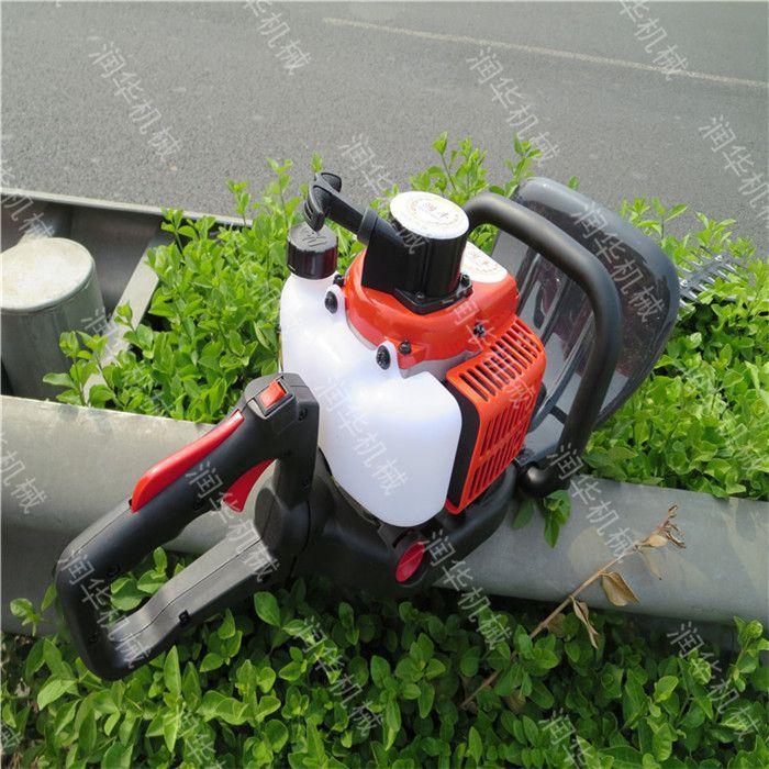 绿化带修剪机 汽油双刃绿篱机 园林绿化绿篱修剪机