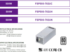 FSP/全汉2U单电500W/FSP500-702UC/FSP500-702UH/FSP500-702UN/