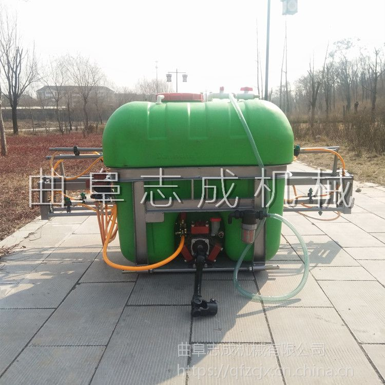 熱銷新型懸挂式打藥機500L大容量藥箱噴霧器拖拉機配套加長噴杆噴藥機