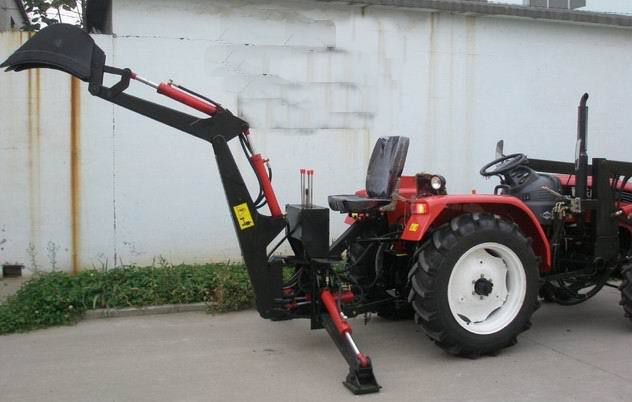 小型挖掘机 农用挖掘机 小四轮拖拉机改装