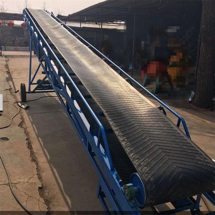液压升降带式输送机款式 兴亚货车装卸散料装卸输送机
