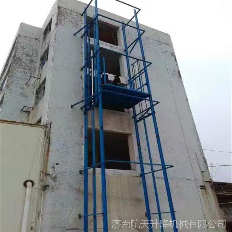 宣城泾县 导轨固定式升降机 升降货梯厂家 3层6米厂房升降货梯 载货升降机 升降平稳 外形美观