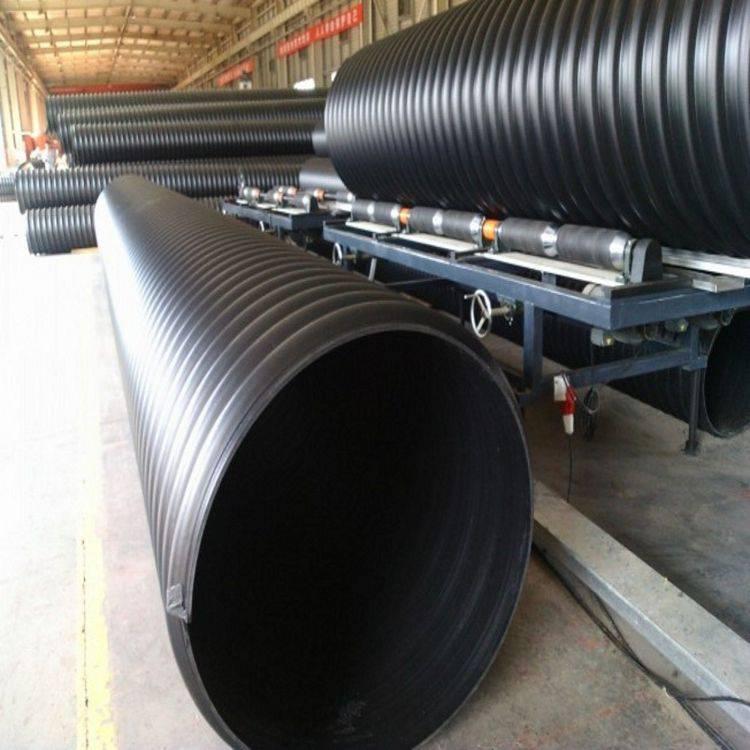 大口径钢带波纹管 排水排污管