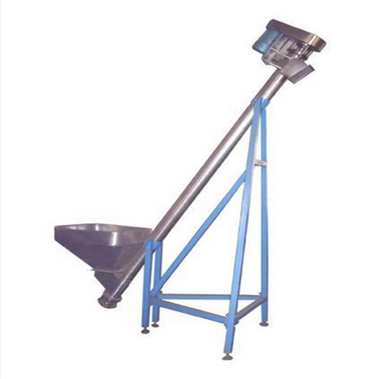 昆山升降式自动螺旋提升机 兴亚螺旋提料机非标定制