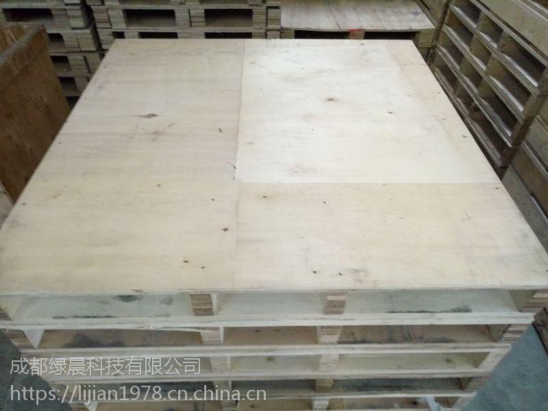 成都多层板-彭州二手胶合板木托盘免熏蒸托盘一次性木托盘适用于医药食品电子化工叉车货架出口尺寸1200*1000