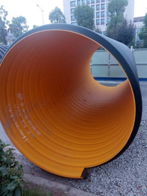 排污工程PE钢带管哪里销售