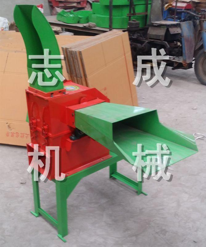 家禽饲养铡草揉搓粉碎机 小型两相电铡草机 多功能牛羊饲料粉碎机