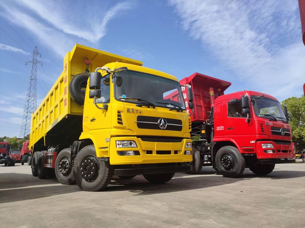海南轻量化万山超龙商用车前四后八自卸车自重10吨189 7250 6663