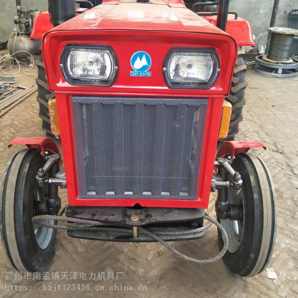 电力线路拖拉机绞磨 放线四轮绞磨机 放电缆四轮绞磨车 天泽出品