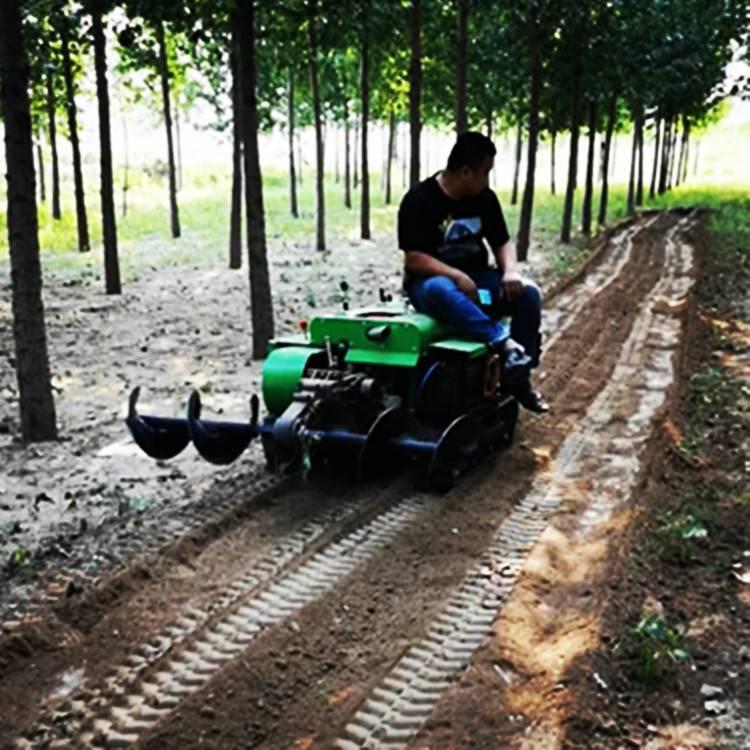 安耕厂家批发35马力履带开沟机一体回填功能